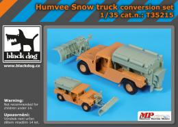 BLACKDOG 1/35 Humvee Snow truck - conversion set  for ITA