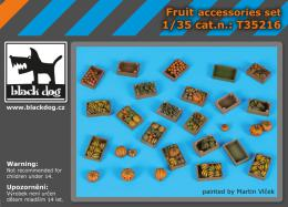 BLACKDOG 1/35 Fruit accessories set