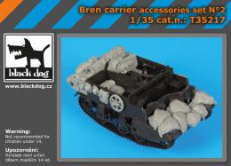 BLACKDOG 1/35 Bren carrier accessories set  for TAM