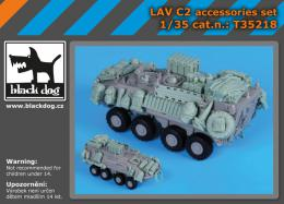 BLACKDOG 1/35 LAV C 2 accessories set  for TRUMP