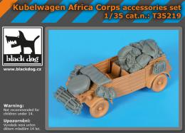 BLACKDOG 1/35 Kübelwagen Africa Corps accessories set (TAM)