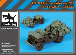 BLACKDOG 1/35 US Jeep accessories set (TAM)