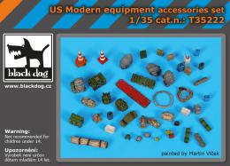 BLACKDOG 1/35 US modern equipment accessories set