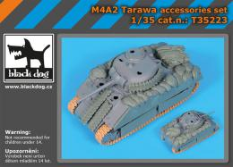 BLACKDOG 1/35 M4A2 Tarawa accessories set (DRAG)