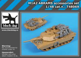 BLACKDOG 1/48 M1A2 Abrams accessories set (TAM)