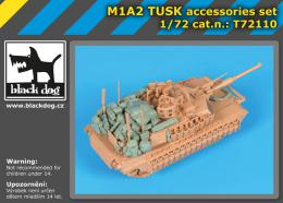 BLACKDOG 1/72 M1A2 TUSK accessories set  for TIGER M.