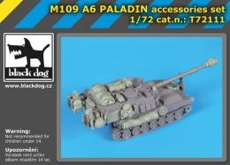BLACKDOG 1/72 M 109 A6 Paladin accessories set  for RIICH M.