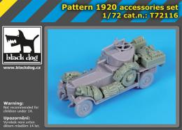 BLACKDOG 1/72 Pattern 1920 accessories set for RODEN - zvìtšit obrázek