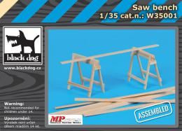 BLACKDOG 1/35 Saw bench (wooden set)