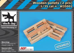 BLACKDOG 1/35 Wooden palets (2 pcs.)
