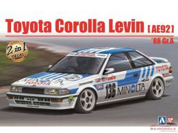 BEEMAX 1/24 Toyota Levin AE92 Gr.A1988