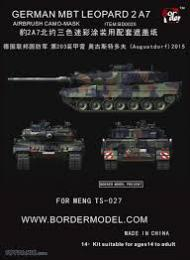 BORDER MODEL BD0020 Leopard 2 A7 Camouflage 1/35
