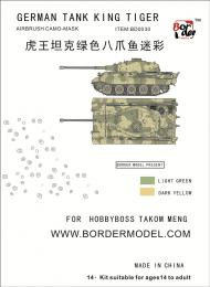 BORDER MODEL BD0030 KingTiger (Octopus camouflage)