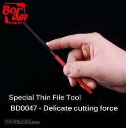 BORDER MODEL BD0047 Special Thin File Delicate Cutting Force