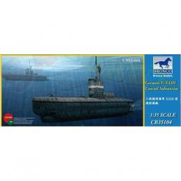 BRONCO 1/35 German Type XXIII U-Boat Coastal Submarine