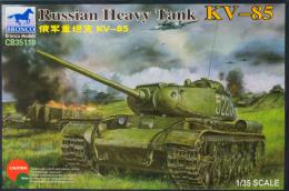 BRONCO 1/35 Russian Heavy Tank KV-85