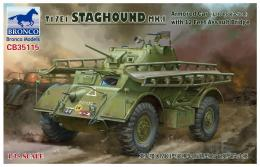 BRONCO 1/35 T17E1 Staghound Mk.I Armored Car Late Production