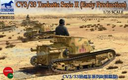 BRONCO 1/35 CV3/33 Tankette Serie II - Early