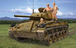 BRONCO 1/35 M24 Chaffee In Indochina War