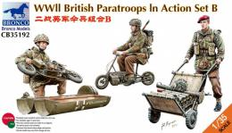 BRONCO 1/35 WWII British Paratroops In Action B