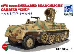 BRONCO 1/35 sWS 60cm Infrared Searchlight Carrier
