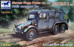 BRONCO 1/35 German Krupp Protze Kfz. 19 Radio Command Car