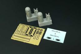 BRENGUN 1/48 MKXVII Depth Charge for resin & PE set
