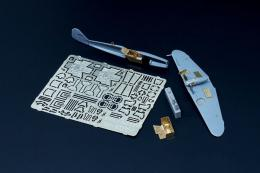 BRENGUN 1/144 Bf-109 K - detail PE set for Mark1