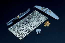 BRENGUN 1/144 Bf-109 G-10 - detail PE set for Mark1