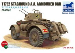 BRONCO 1/48 T17E2 Staghound AA