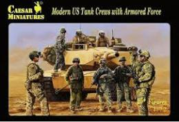 CAESAR 1/72  Modern US Tank Crews with Armored F.