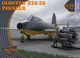 CLEAR PROP 1/72 Gloster E28/39 Pioneer (4x camo, 1941-44)