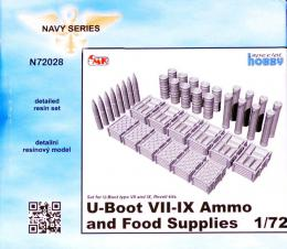 CMK 1/72 U-Boot VII-IX Ammo and Food Supplies for REV