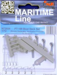 CMK 1/72 PT-109 Boat Deck Set for REV