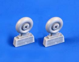 CMK 1/48 Reggiane Re 2005 Main wheels for SH
