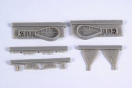 CMK 1/48 J2M3 Raiden Undercarriage Set (HAS)