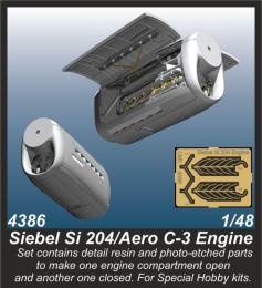 CMK 1/48 Siebel Si 204/Aero C-3 Engine set for SH
