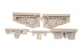 CMK 1/48 Hawker Hunter F.6 Undercarriage Set (AIRFIX)