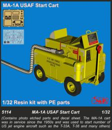 CMK 1/32 MA-1A USAF Start Cart (resin kit w/ PE)