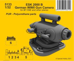 CMK 1/32 ESK 2000 B German WWII Gun Camera