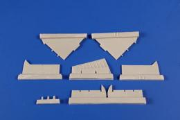 CMK 1/72 A-4B/Q Skyhawk Control surfaces set for AIR