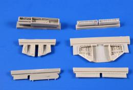 CMK 1/72 A-4B/Q Skyhawk Undercarriage set for AIR