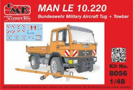 CMK 1/48 MAN LE 10.220 Military Airport Tug + towbar