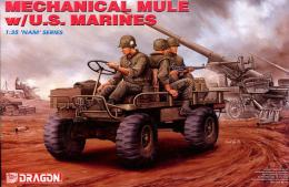DRAGON  1/35 Mechanical mule w/U.S. Marines