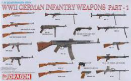 DRAGON 1/35 WWII  German Infantry Weapons set 1