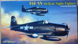 DRAGON CYBER-HOBBY 1/72 F6F-5N Hellcat Night Fighter (CH)
