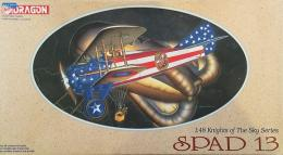 DRAGON 1/48 Spad XIII (KNIGHTS OF THE SKY SERIES)