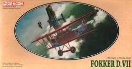 DRAGON 1/48 Fokker D.VII (KNIGHTS OF THE SKY SERIES
