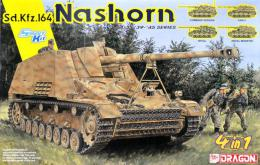 DRAGON 1/35 Sd.Kfz.164 Nashorn (4 in 1)