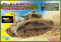 DRAGON 1/35 El Alamein Sherman (w/magic track